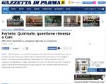 Forteto  Quirinale, questione rimessa a Csm - Gazzetta di Parma