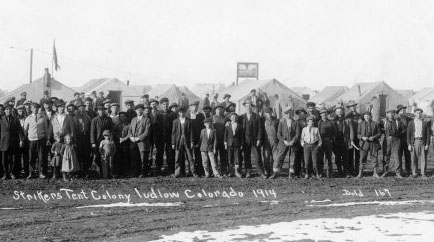 massacro di Ludlow, minatori