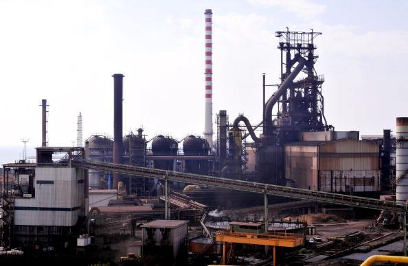 Alexei Mordashov Visits Lucchini Steel Plant In Piombino