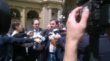 Gabriele Chiurli in conferenza stampa