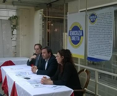 Conferenza stampa di Gabriele Chiurli